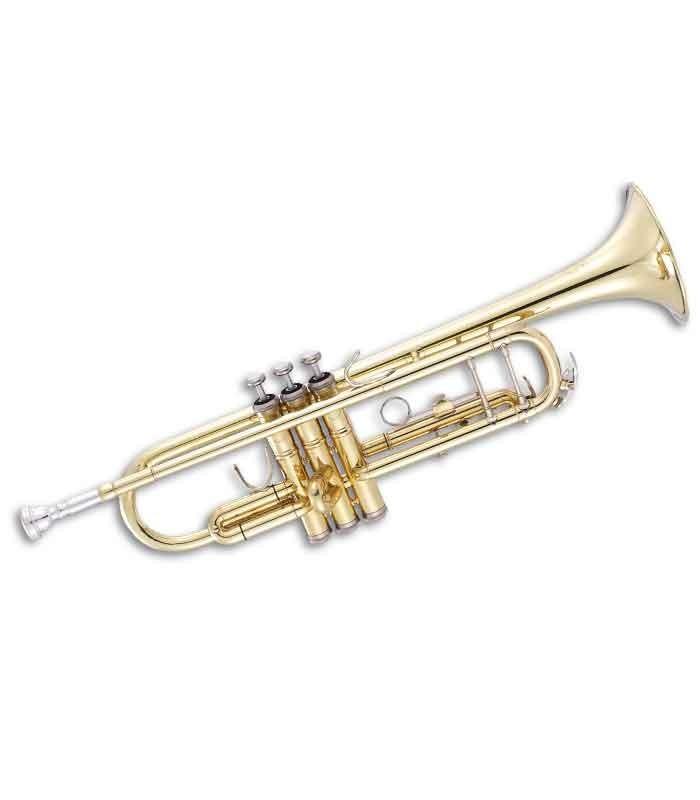 John Packer Trumpet JP151 B Flat Golden with Case