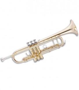 Trompete John Packer JP251SW Si Bemol Dourado com Estojo