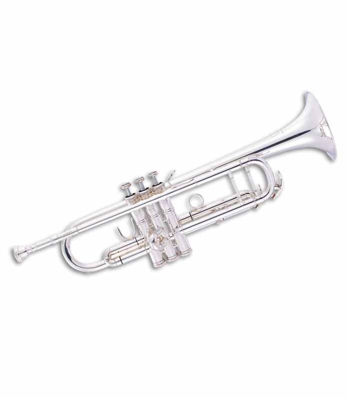 Trompete John Packer JP251SWS Si Bemol Prateado com Estojo
