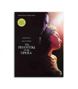 Livro Music Sales HL00313294 The Phantom of the Opera Lloyd Webber