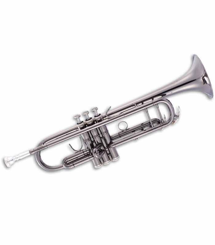 Trompete John Packer JP251SWB Si Preto Antigo com Estojo