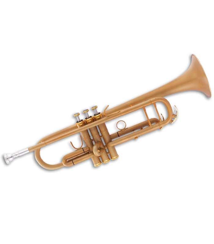 John Packer Trumpet JP251SW B Flat Golden with Case