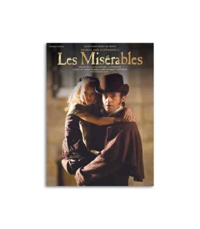 Livro Music Sales MF10150 Les Misérables Film Version Piano