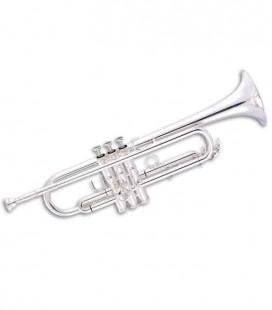 Trompete John Packer JP351SWSLT Si Bemol Prateado com Estojo