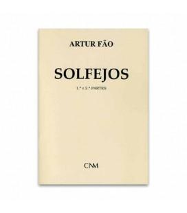 Libro Artur Fão Solfejos Partes 1 y 2