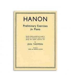 Libro Thompson Hanon Preliminary Exercises Piano WHR000352