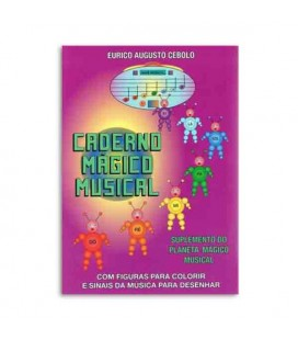 Livro Eurico Cebolo PLM Planeta Mágico Musical Kit