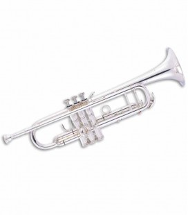 John Packer Trumpet JP251SWRS B Flat Silver Plated and Rose Brass with Case