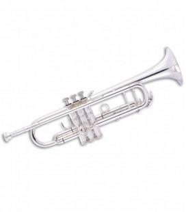 Trompete John Packer JP251SWRS Si Bemol Prateado e Cobre Rosa com Estojo