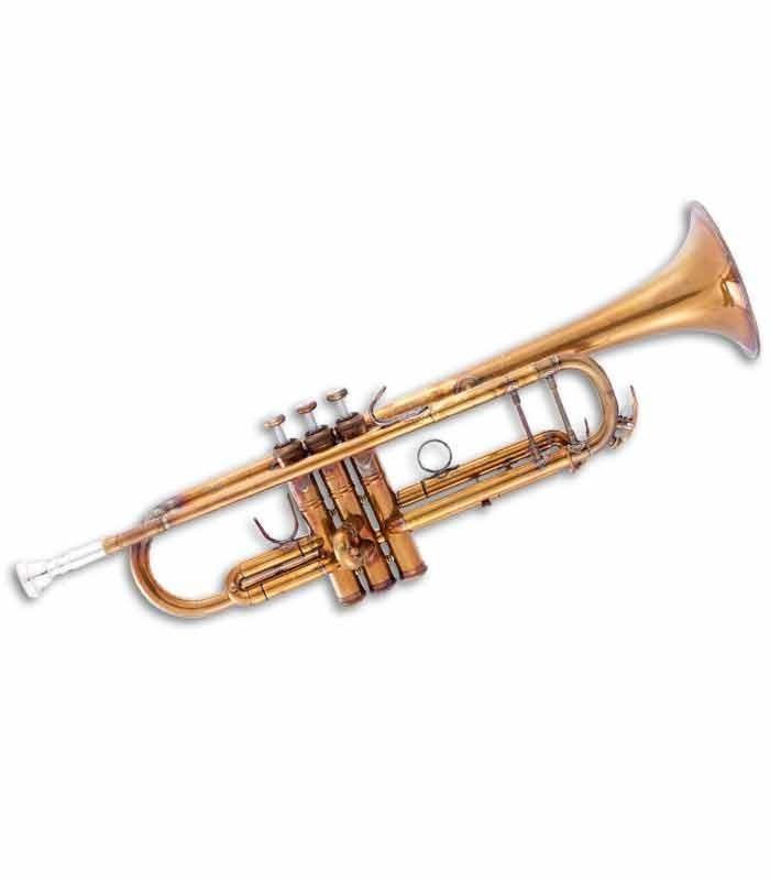 John Packer Trumpet JP251SWA B Flat Golden Antique with Case