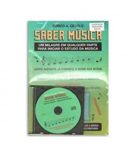 Eurico Cebolo Book Método Saber Música with CD SMUS