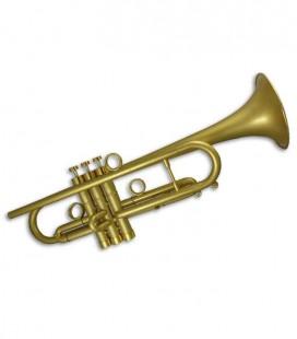 Trompete John Packer JP by Taylor Si Bemol Dourado com Estojo