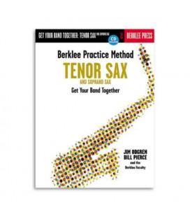 Livro Music Sales HL50449431 Berklee Practice Method Tenor Soprano Sax