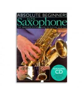 Livro Music Sales AM92620 Absolute Beginners Alto Sax Book CD