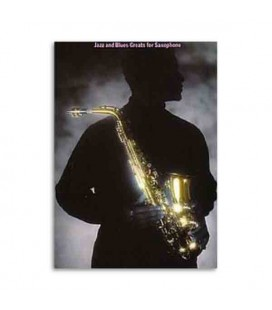 Livro Music Sales AM82298 Jazz and Blues Greats for Saxophone