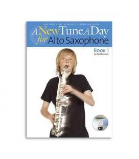 Livro Music Sales BM11363 A New Tune a Day Sax Book 1 CD