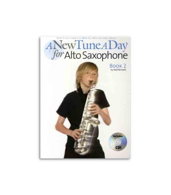 Book Music Sales A New Tune a Day Alto Sax Book 2 with CD BM12155