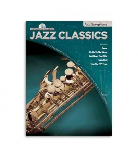 Livro Music Sales HLE90003067 Jazz Classics Instant Play Along Sax Alto
