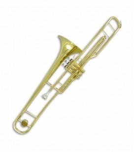 Trombón de Pistones John Packer JP134 Do Dorado con Estuche