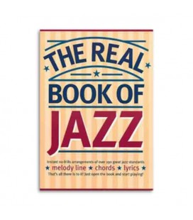 Music Sales book The Real Book of Jazz AM952435