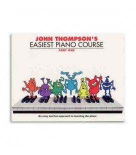 Livro Music Sales WMR000176 Thompson Easiest Piano Course 1