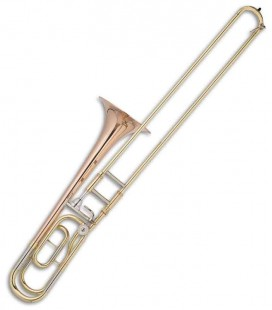 Trombone de Varas Tenor John Packer JP133MLR Fá/Si Bemol Dourado com Estojo