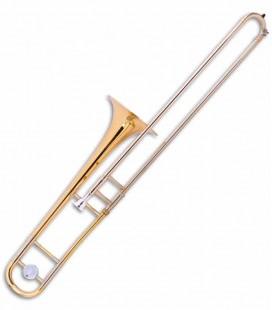 Trombone de Varas Tenor John Packer JP231 Rath Si Bemol Dourado com Estojo