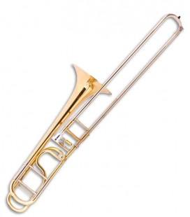 John Packer Bass Trombone JP233 Rath B Flat/F Golden with Case