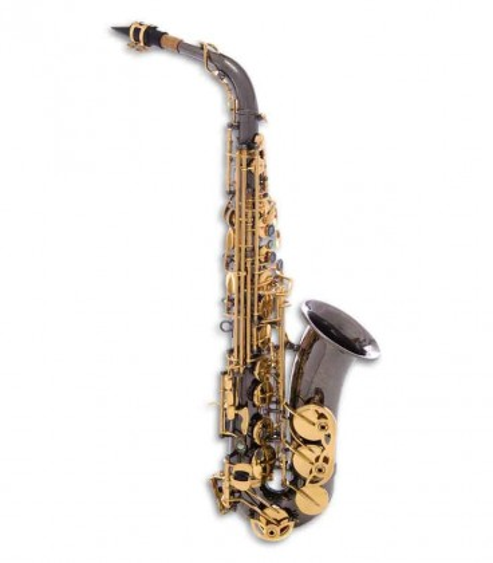 John Packer Alto Saxophone JP045B E Flat Black Golden Keys with Case