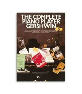Livro Music Sales AM69121 The complete piano player Gershwin