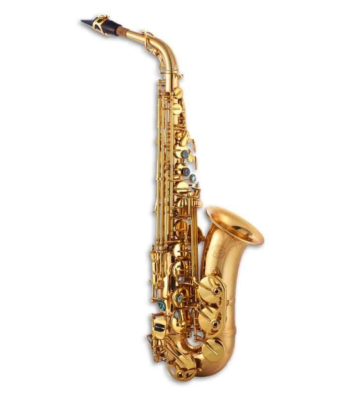 John Packer Alto Saxophone JP045G E Flat Lacquer with Case