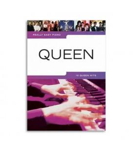 Livro Music Sales HL00307321 Queen Easy Piano