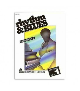 Livro Music Sales BOE3503 Rhythm and Blues Piano