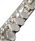 Foto detalhe das chaves da Flauta John Packer JP011