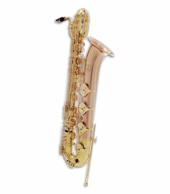 Saxofone Barítono John Packer JP144 Mi Bemol Dourado com Estojo