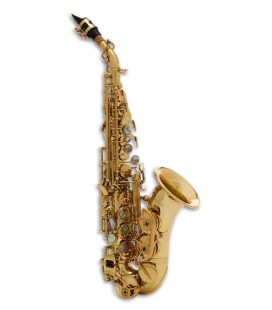 John Packer Curved Soprano Saxophone JP043CG B Flat Lacquer with Case