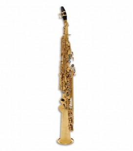Saxófono Soprano John Packer JP043G Si Bemol Dorado con Estuche