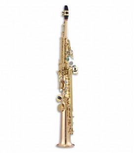 Saxófono Soprano John Packer JP243G Si Bemol Dorado con Estuche