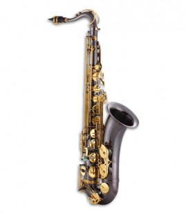 Saxofone Tenor John Packer JP042B Si Bemol Preto com Chaves Douradas e Estojo