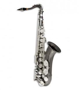 Saxófono Tenor John Packer JP042BS Si Bemol Negro con Llaves Plateadas y Estuche