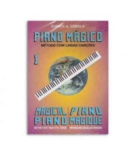 Livro Eurico Cebolo PM Método Piano Mágico No 1