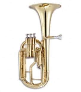 Saxofone Trompa John Packer JP072 Mi Bemol Dorado com Estojo