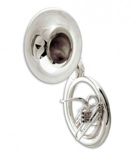 John Packer Sousaphone JP2057S B Flat Silver Plated with Case