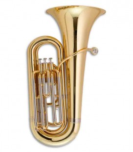 Tuba Compacta John Packer JP078 Si Bemol Dorada con Estuche