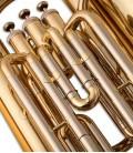 Foto de los pistones de la Tuba Compacta John Packer JP078