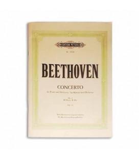 Libro Edition Peters P2894B Beethoven Concerto No 2 Op 19