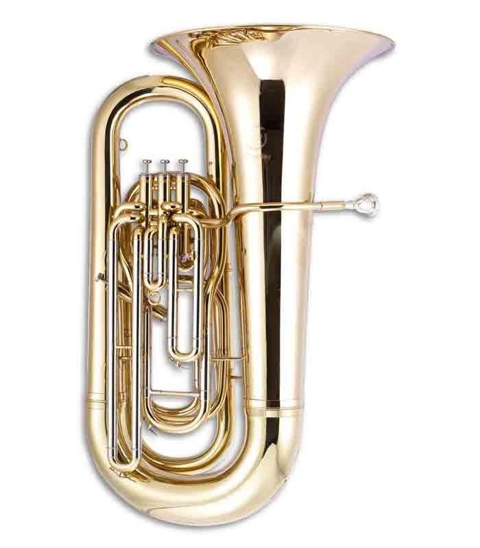 Tuba John Packer JP378 Sterling Si Bemol Dourada com Estojo