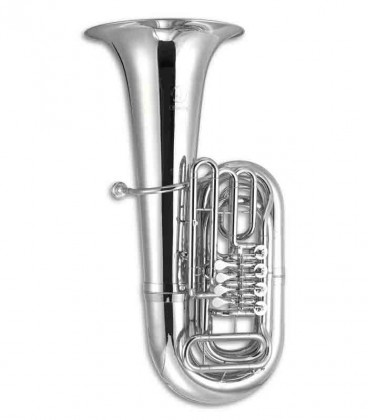 John Packer Tuba JP379BBS Sterling B Flat Silver Plated with Case