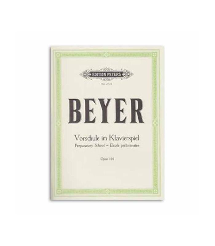 Livro Edition Peters EP2721 Beyer Elementary Method Opus 101