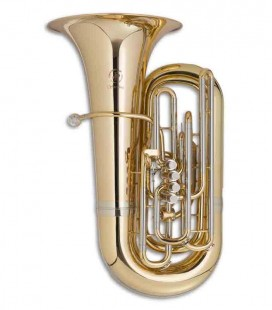 Tuba John Packer JP379CC Sterling Do Dorada con Estuche